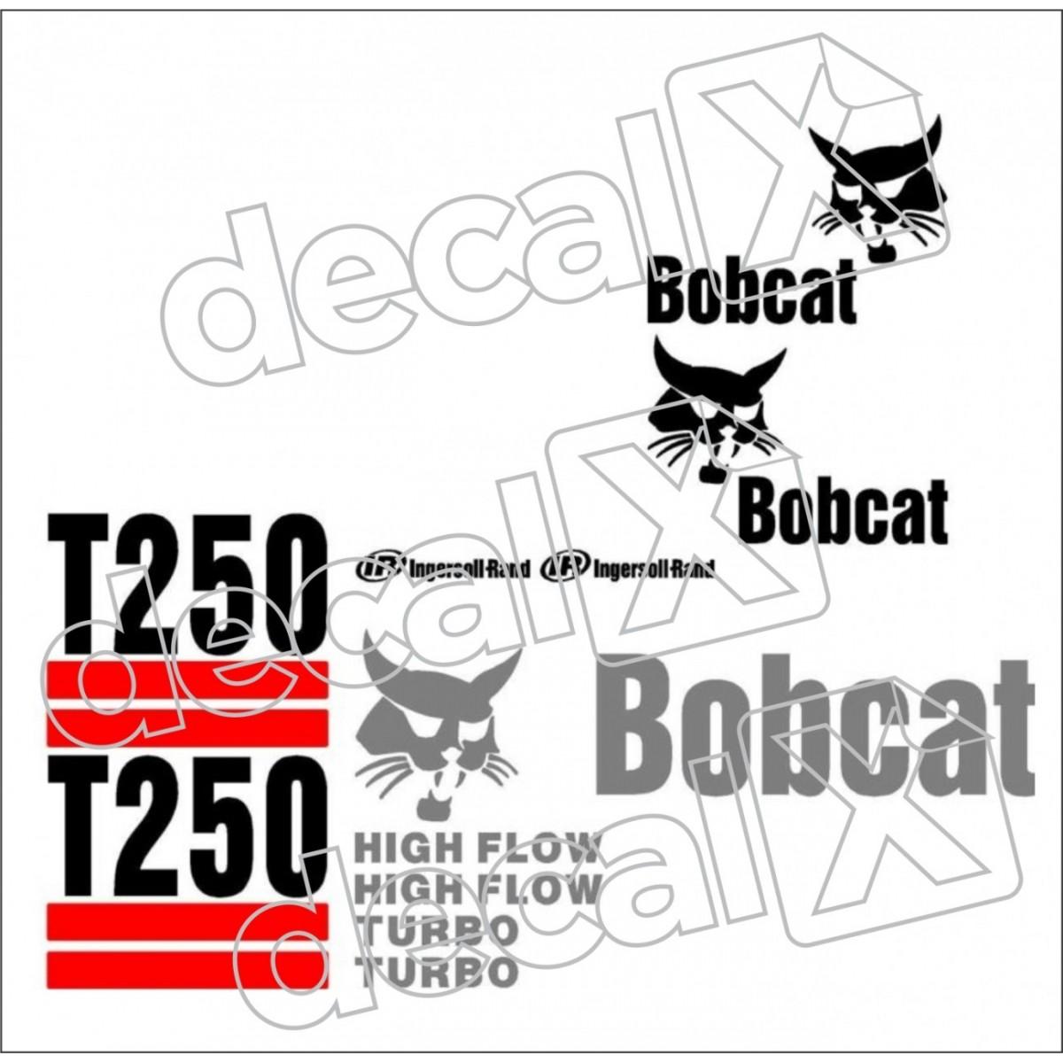 Kit Adesivos Bobcat T250 Decalx