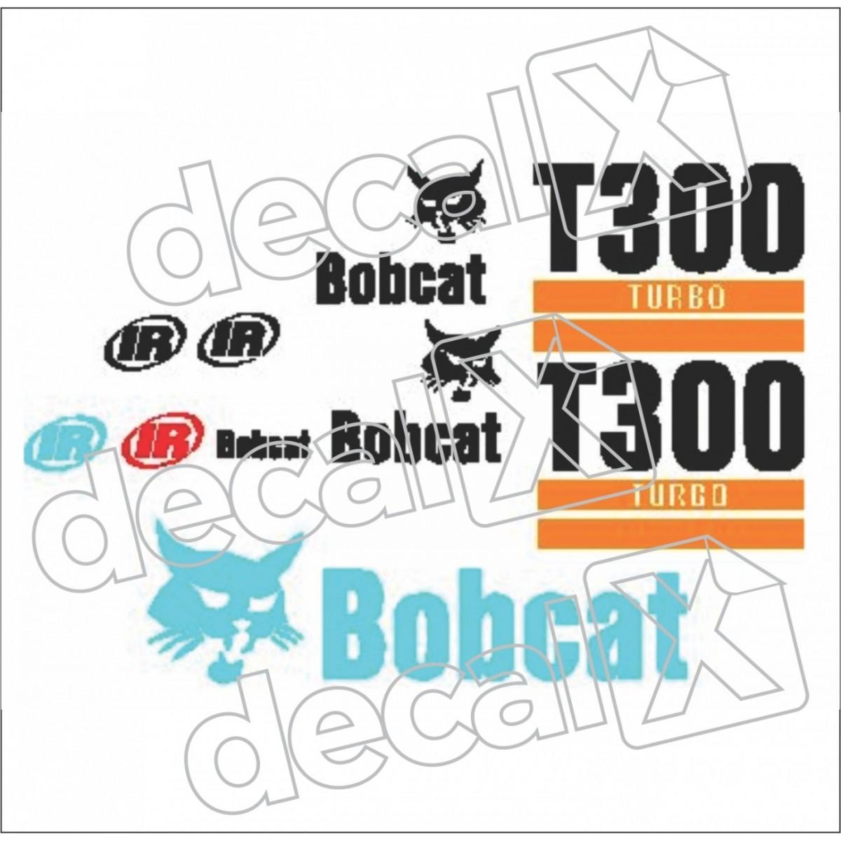 Kit Adesivos Bobcat T300 Decalx