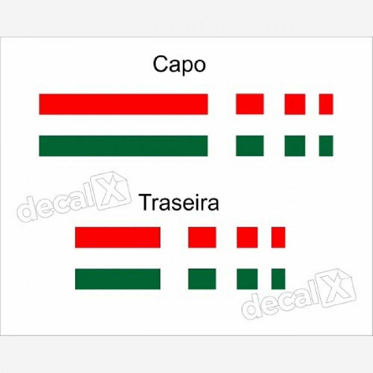 Kit Adesivos Capo E Traseira Fiat Strada