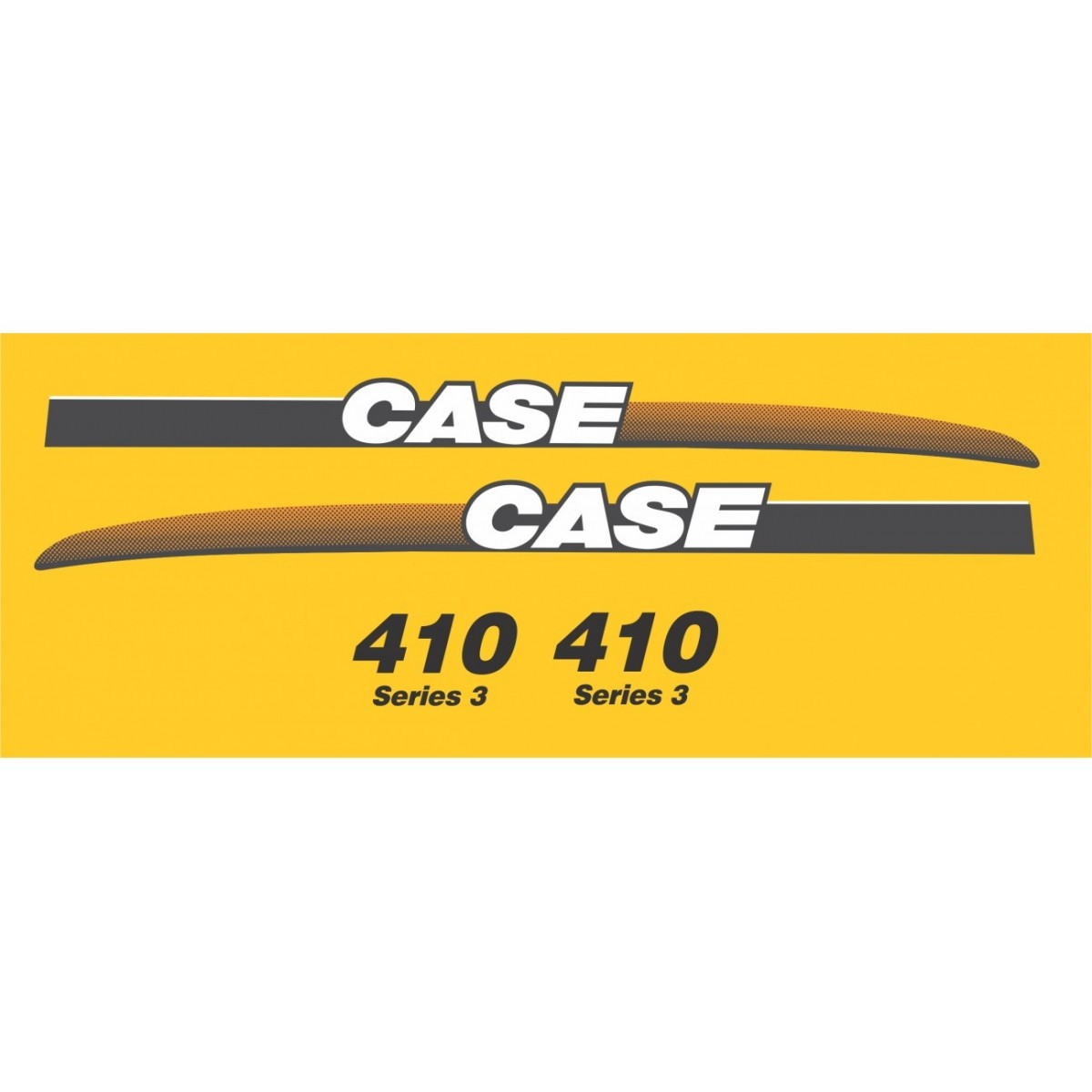 Kit Adesivos Case 410 - Decalx
