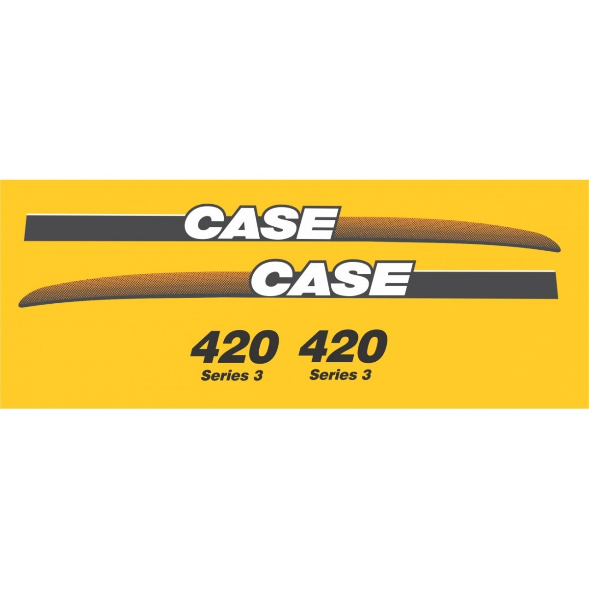 Kit Adesivos Case 420 - Decalx
