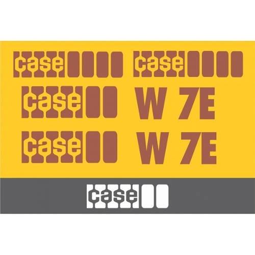 Kit Adesivos Case W7e - Decalx