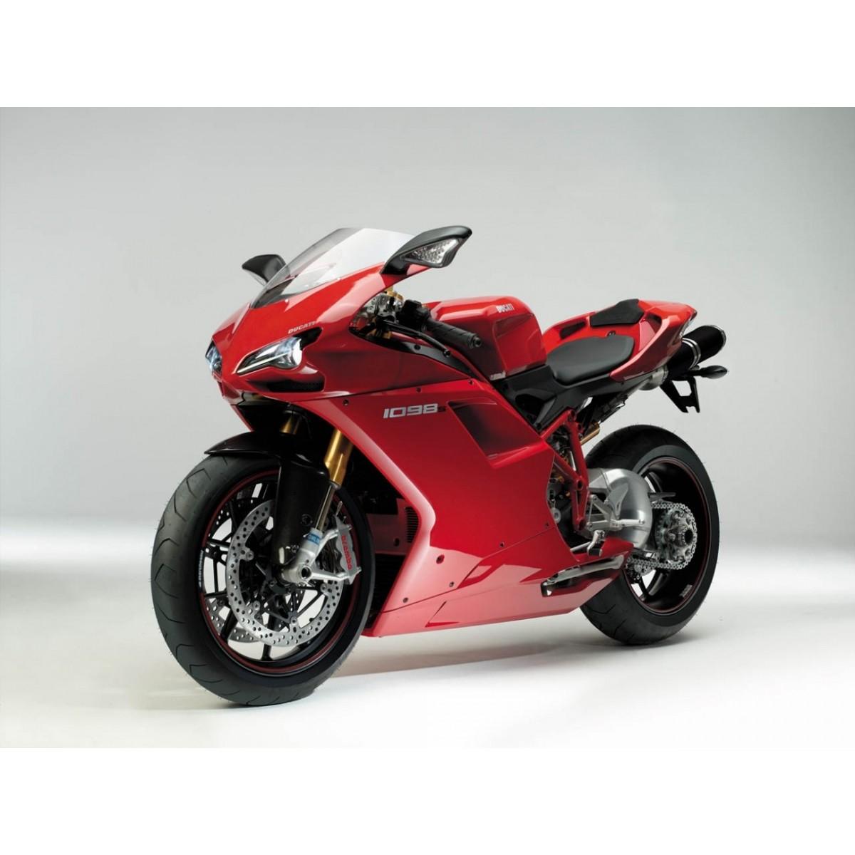 Kit Adesivos Ducati 1098s Vermelha Decalx
