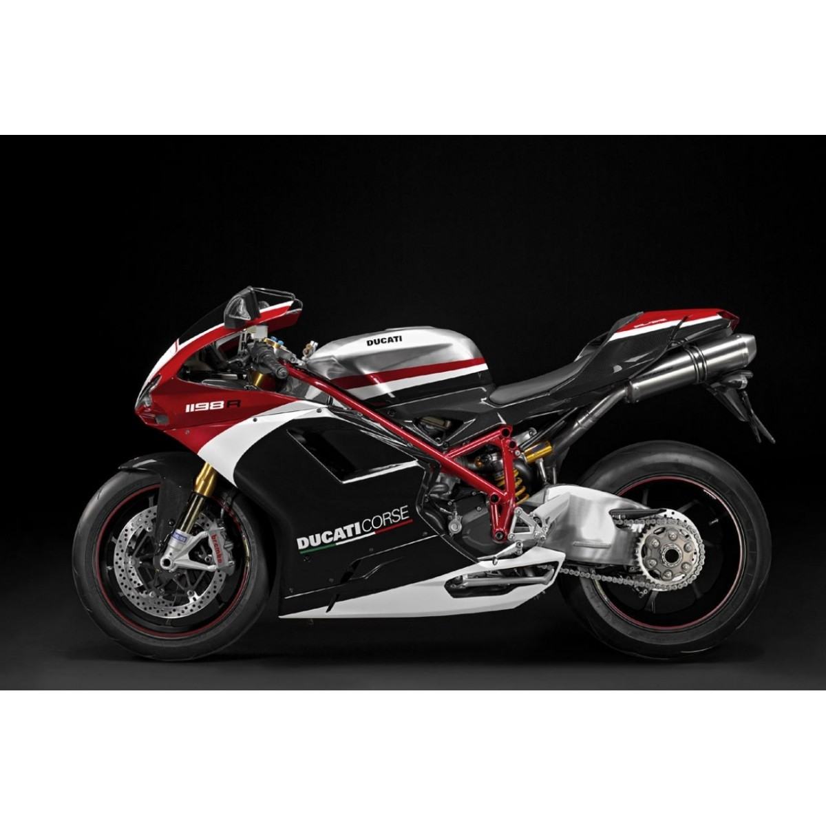 Kit Adesivos Ducati Corse 1198r Decalx