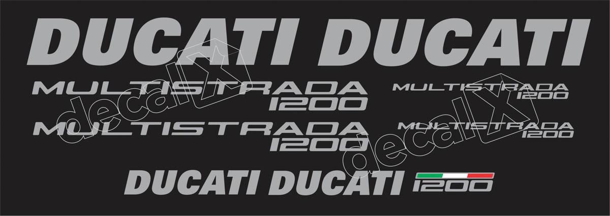Kit Adesivos Ducati Multistrada 1200 Dctmu12001