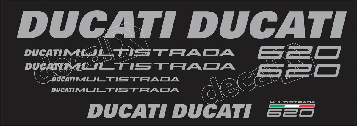 Kit Adesivos Ducati Multistrada 620 Dctmu62001