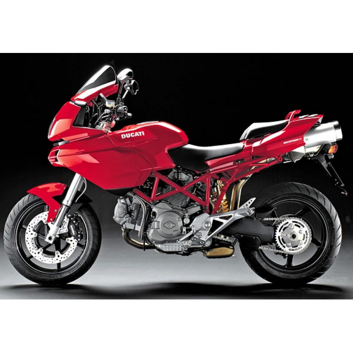Kit Adesivos Ducati Multistrada 620 Dctmu62002