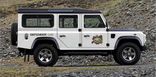 Kit Adesivos Faixas Land Rover Defender 110 Dfndr13