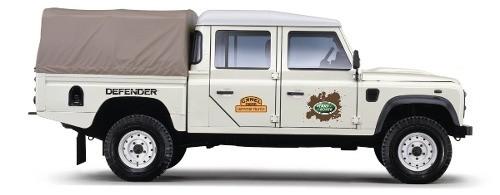 Kit Adesivos Faixas Land Rover Defender 110 Dfndr16