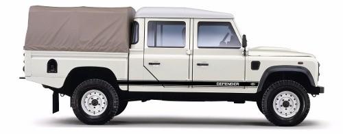 Kit Adesivos Faixas Land Rover Defender 110 Dfndr19