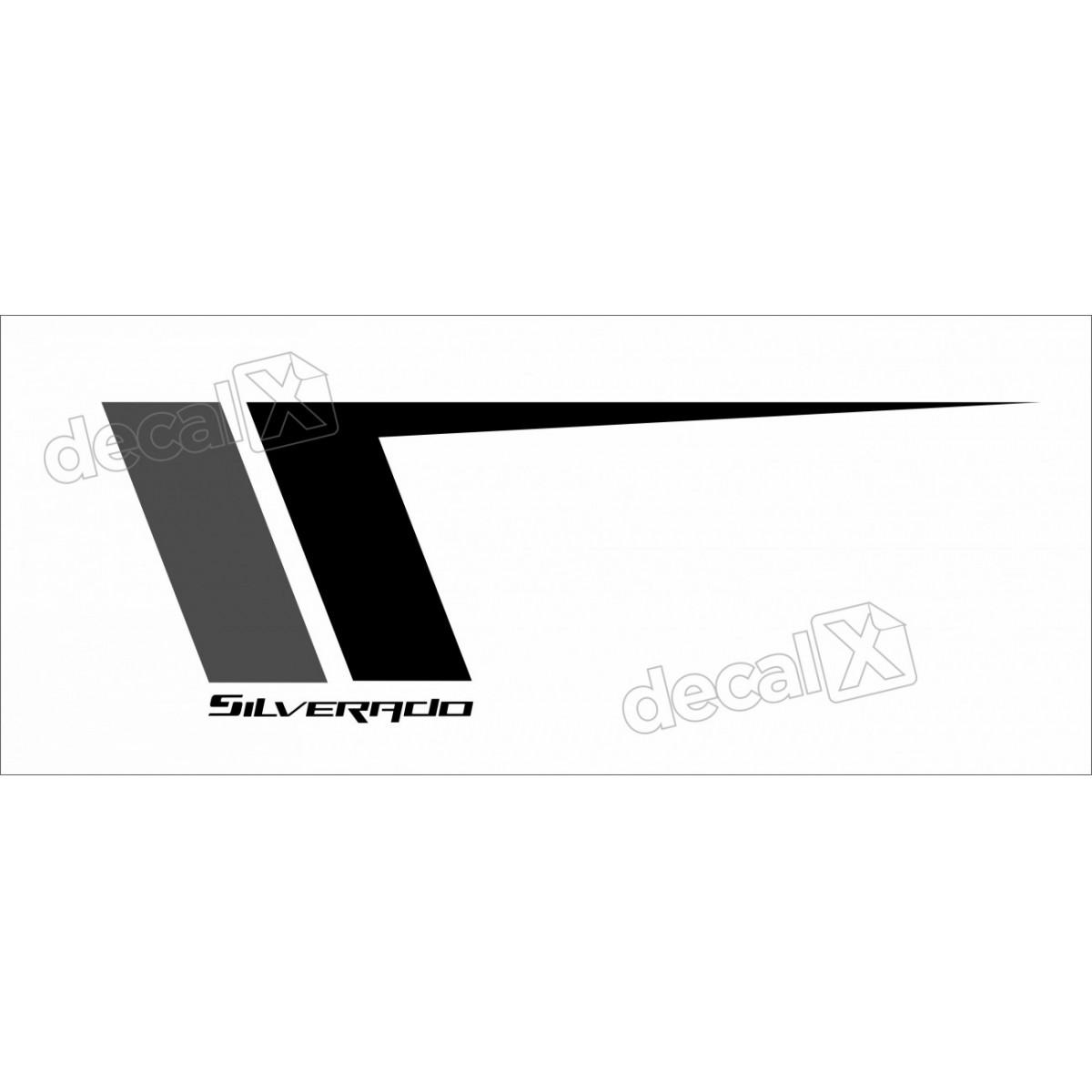 Kit Adesivos Porta Silverado Ctm532