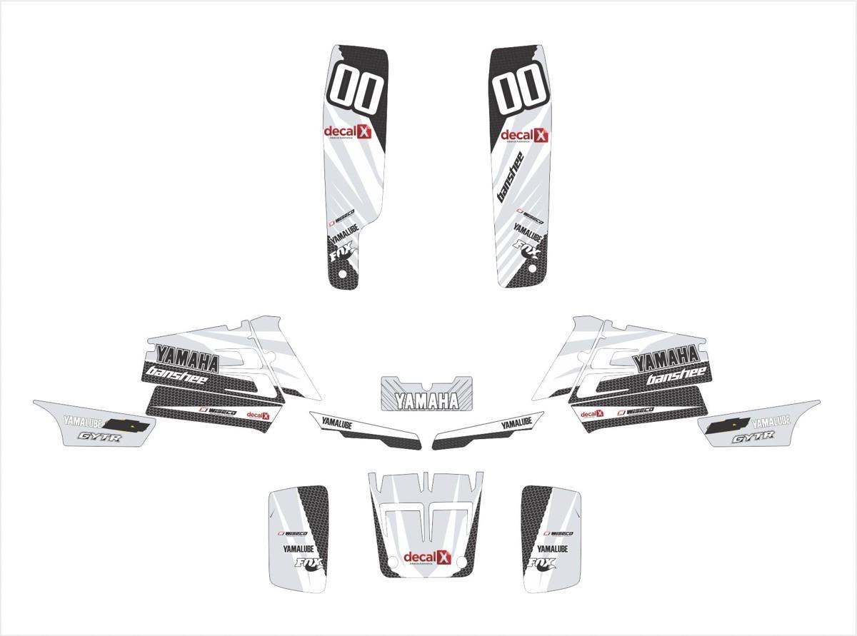 Kit Adesivos Quadriciclo Yamaha Banshee Yh003