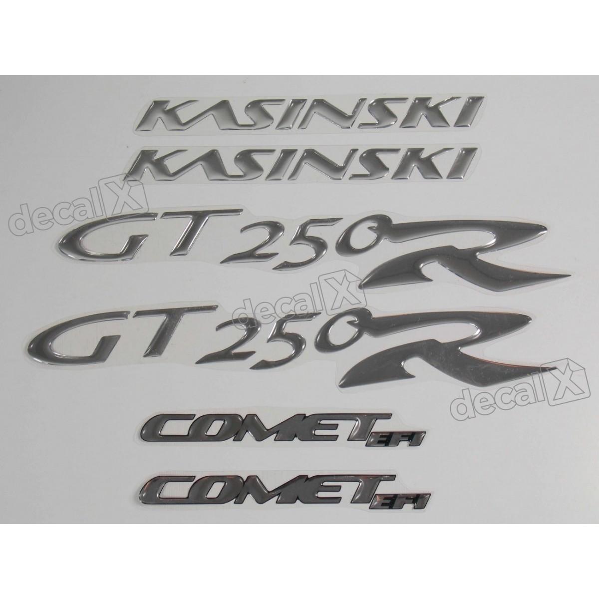 Kit Adesivos Resinados Kasinski Comet Gt 250r Rs1