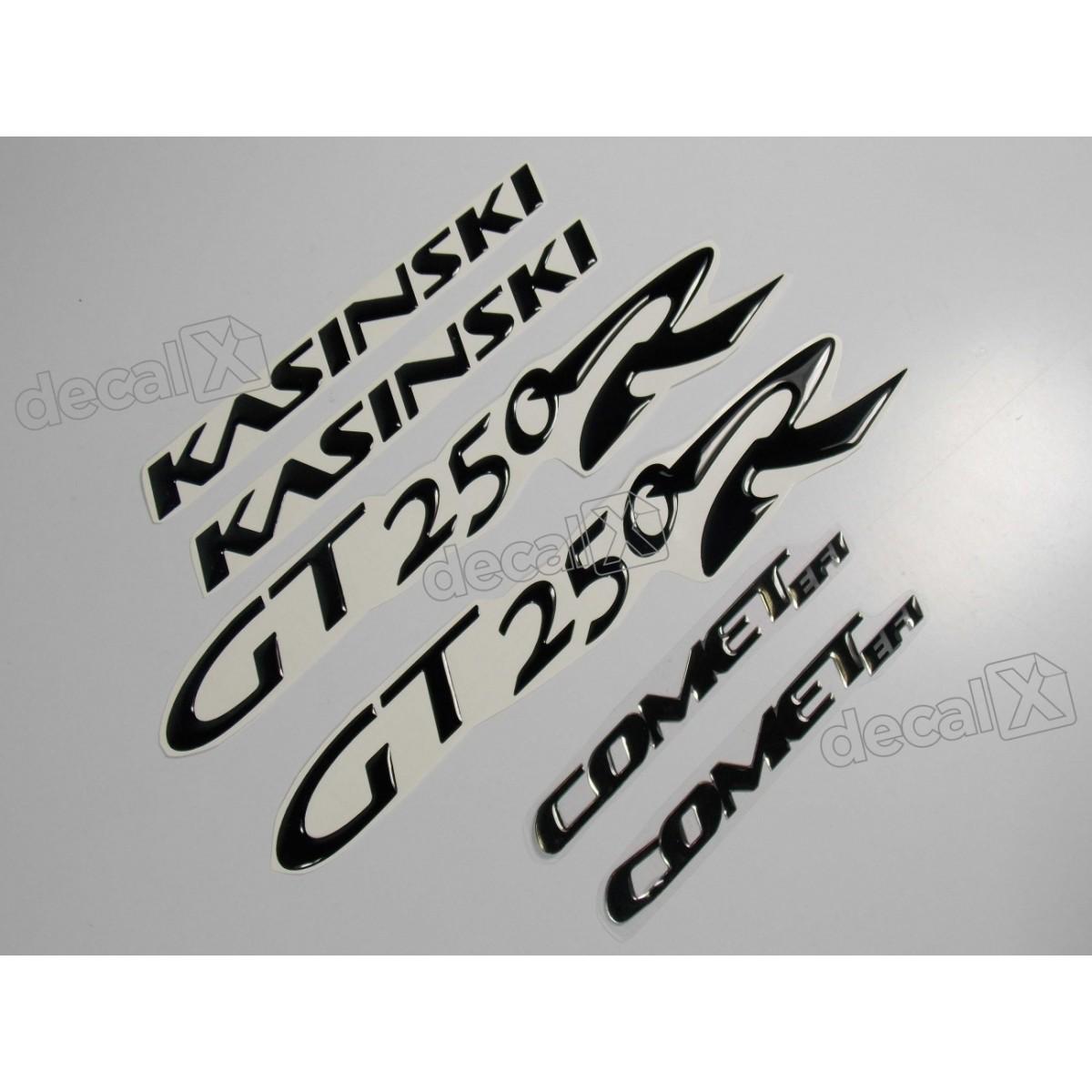 Kit Adesivos Resinados Kasinski Comet Gt 250r Rs2