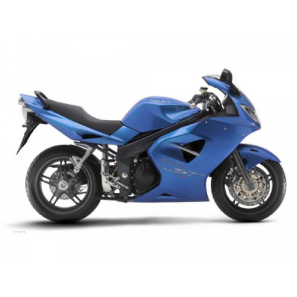 Kit Adesivos Triumph 1050 Sprint St 1050 Azul Decalx