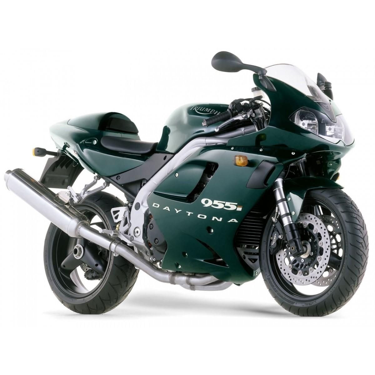 Kit Adesivos Triumph Daytona 955i Verde D955004 Decalx