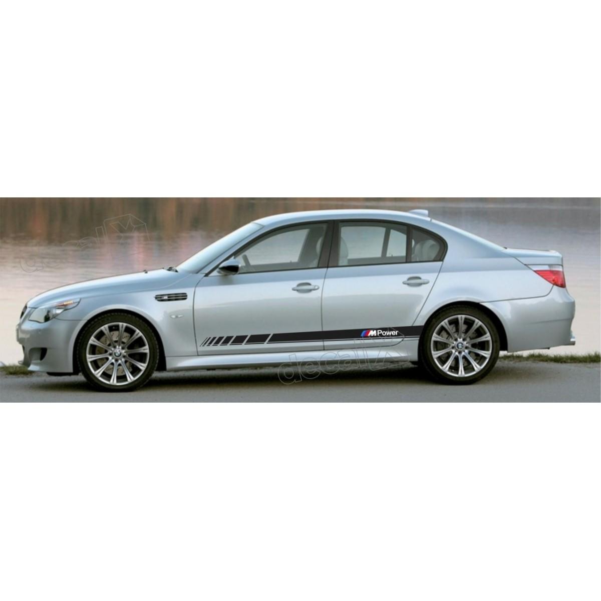 KIT FAIXAS LATERAIS BMW SERIE 3 POWER BW30