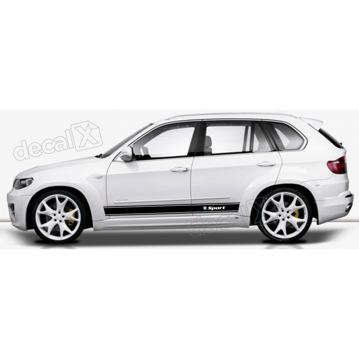 KIT FAIXAS LATERAIS BMW X5 SPORT X54