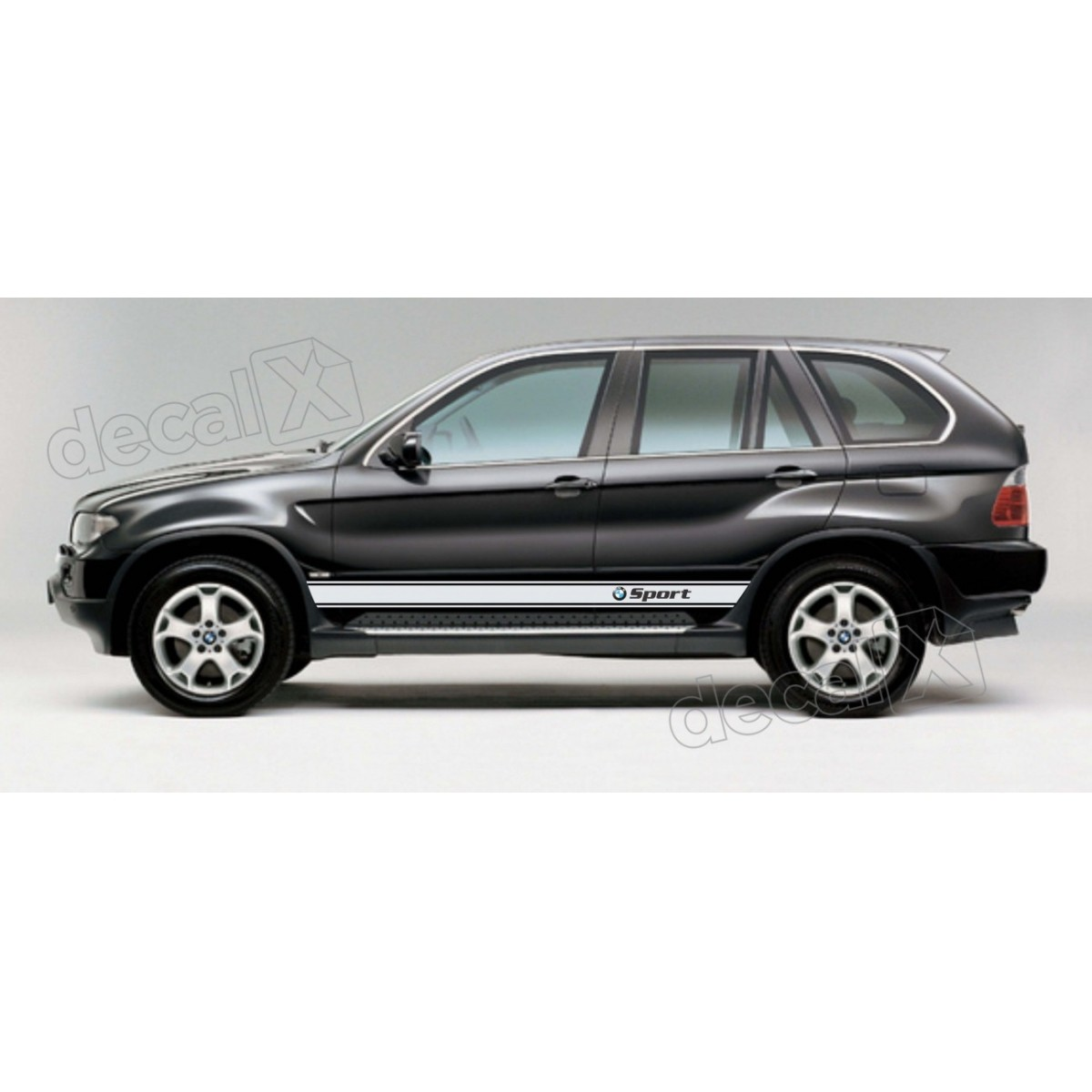 Kit Faixas Laterais Bmw X5 Sport X55