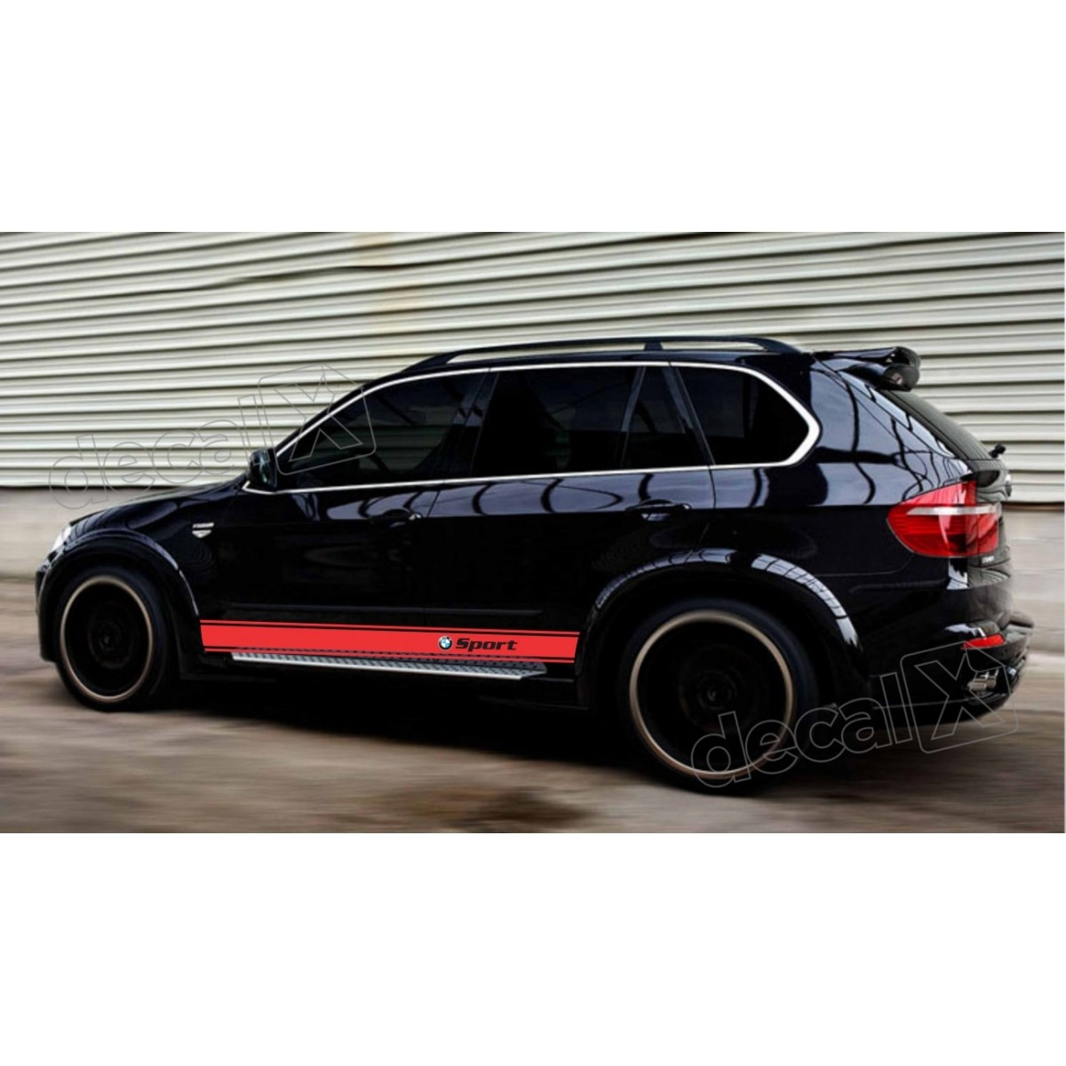 KIT FAIXAS LATERAIS BMW X5 SPORT X57