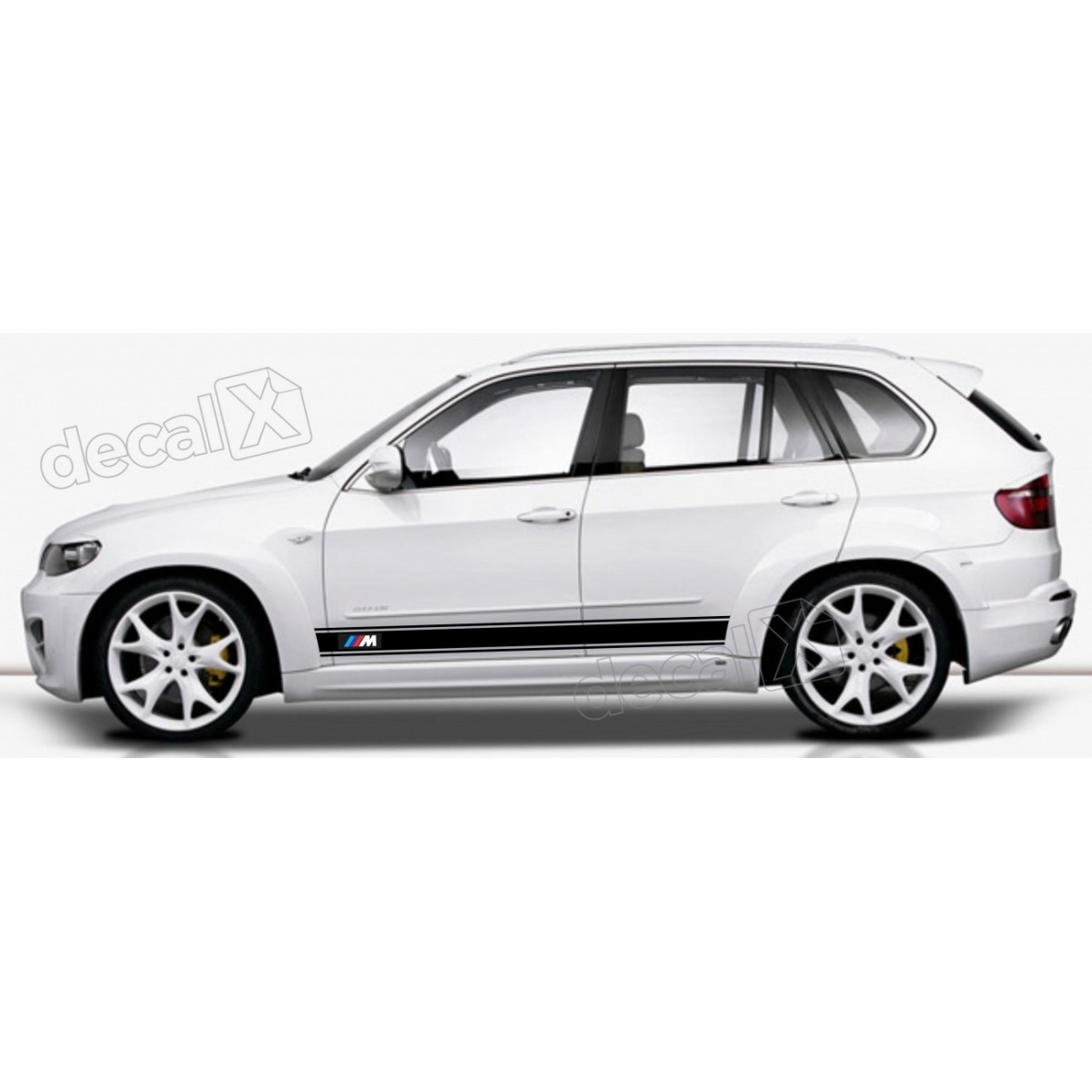 KIT FAIXAS LATERAIS BMW X5 X53