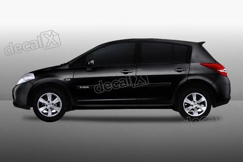 Kit Friso Adesivo Lateral Resinado Nissan Tiida Hatch Fri10