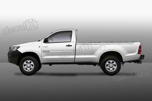 Kit Friso Adesivo Lateral Resinado Toyota Hilux Cs Fri11