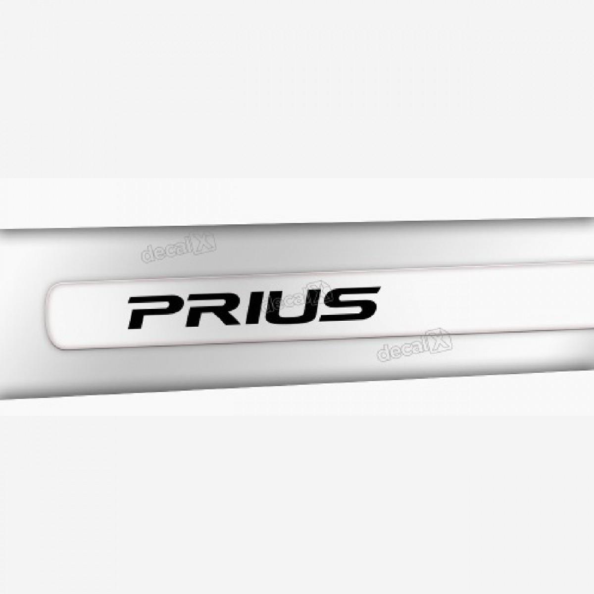 Kit Friso Adesivo Lateral Resinado Toyota Prius Transparente