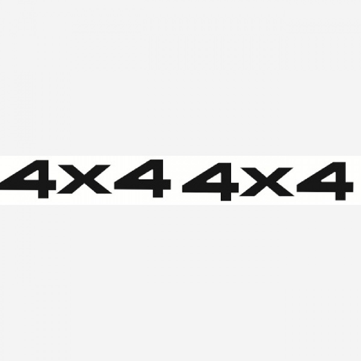 Par Adesivo 4x4 Cherokee Sport Decalx