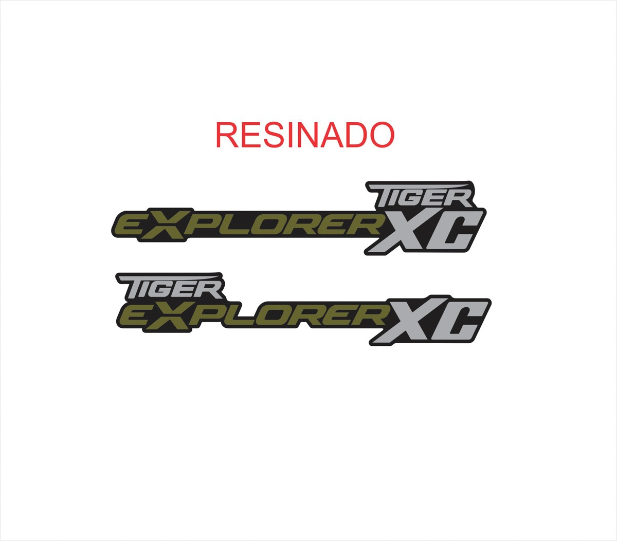 Par Adesivo Triumph Tiger Explorer Xc Resinado Tg032