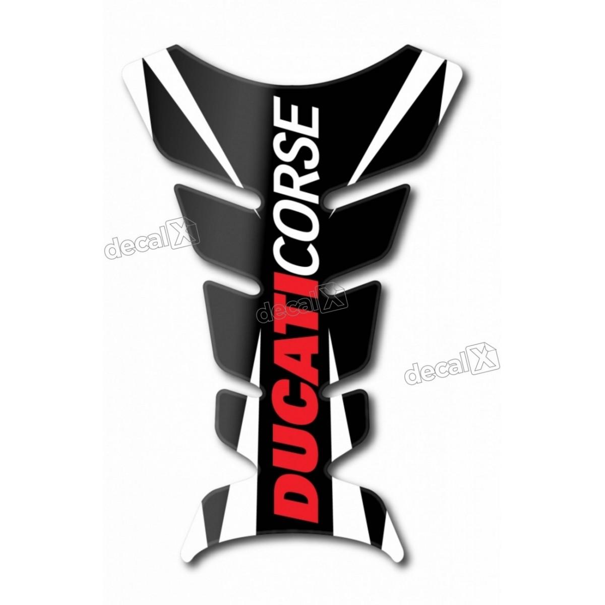 Protetor Tanque Tankpad Resinado Ducati Corse Tpa02