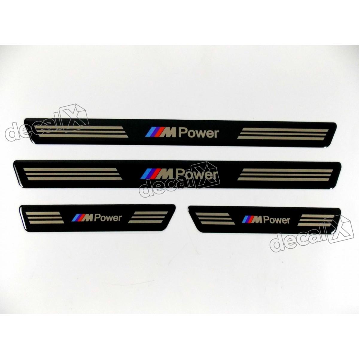 Soleira De Proteção Bmw Power - Decalx