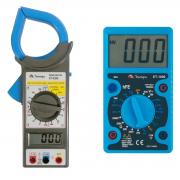 Kit Minipa Alicate Amperímetro Et-3200 + Multímetro Et-1000