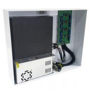 Power Balun Pvt 8 Canais Completo Rack Hd 8000 Onix