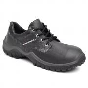 Sapato De Segurança Estival Em Couro Preto Wo10041s1 CA 27.852