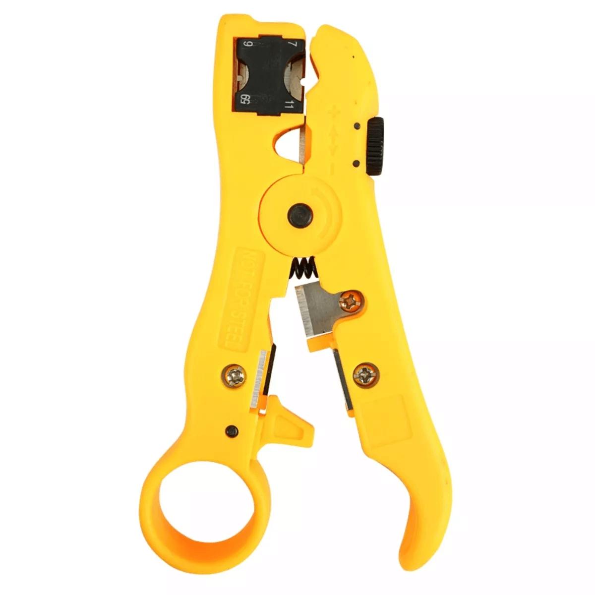 Alicate Desencapador 4em1 Conector Rg59/6/11/7/utp/stp Kokay