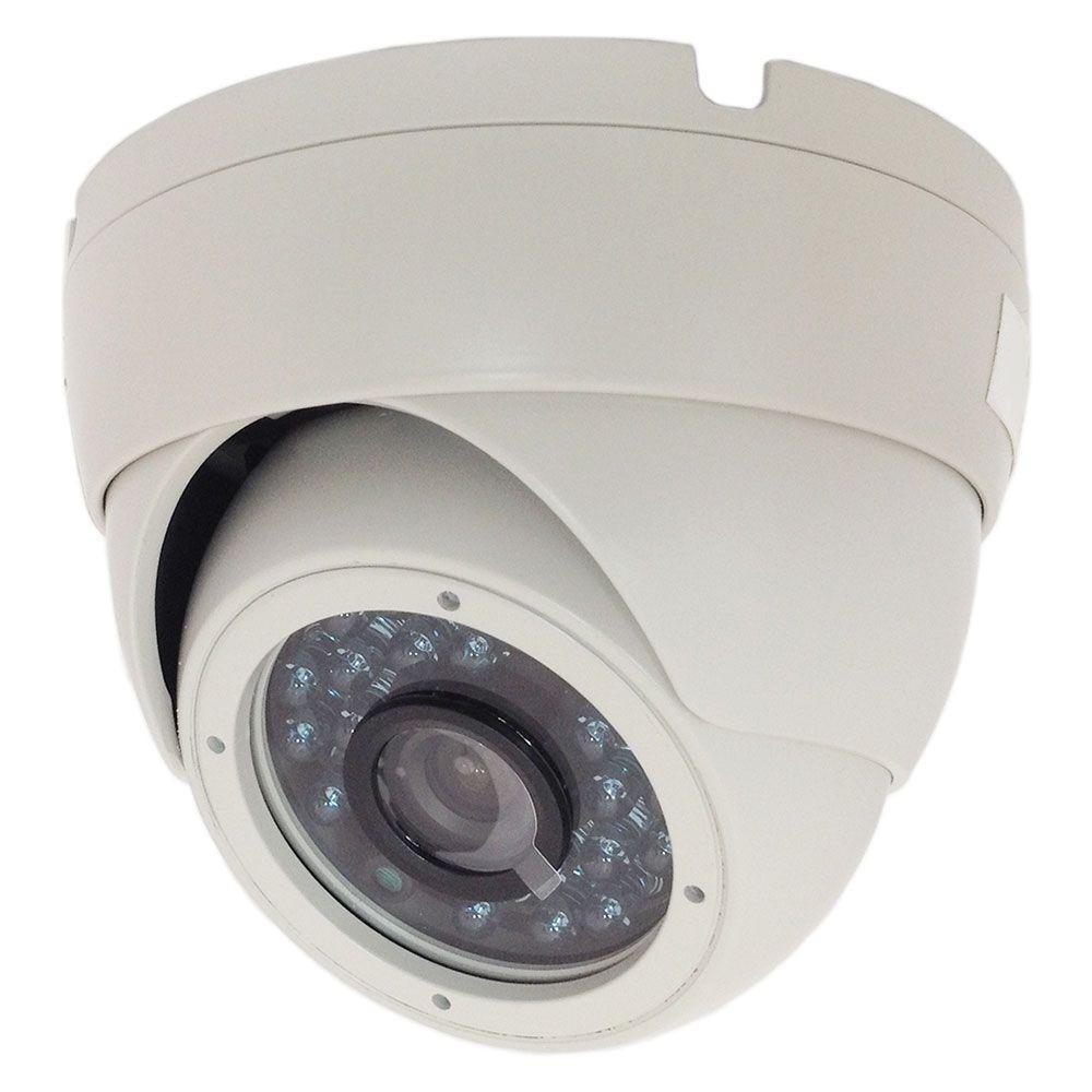 Câmera Dome Externa Blindada 950 Linhas Ir 25 Metros