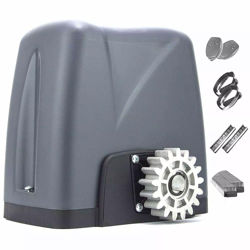 Kit Motor Portão Deslizante Dz Nano 36 Turbo 3 Cremalheira