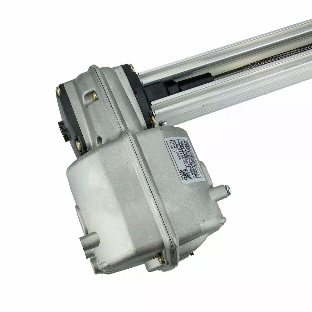 Kit Motor De Portão Basculante Rossi 1/4 Bv Nano 1,50 Calha