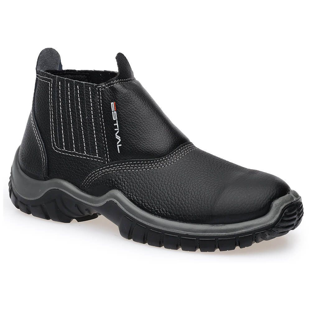 Kits Calçado de Segurança Preto - Estival W010011s1 + W010041s1