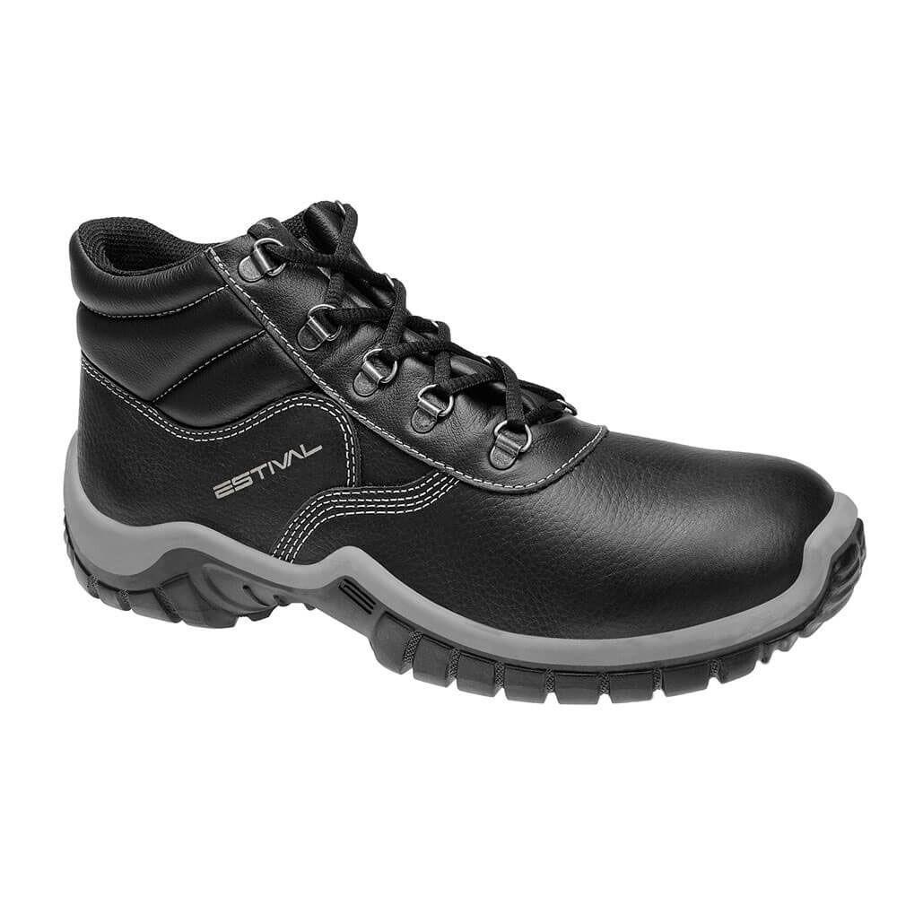 Kits Calçado de Segurança Preto - Estival W010031s1 + W010041s1