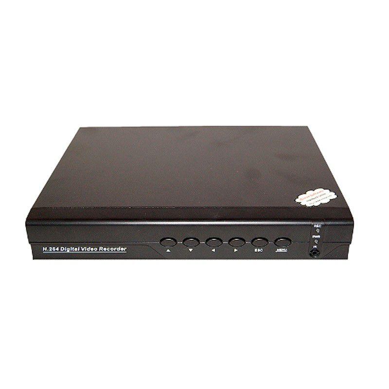 Nvr Gravador de Câmera IP 30 FPS H264 Saída POE 4 Canais