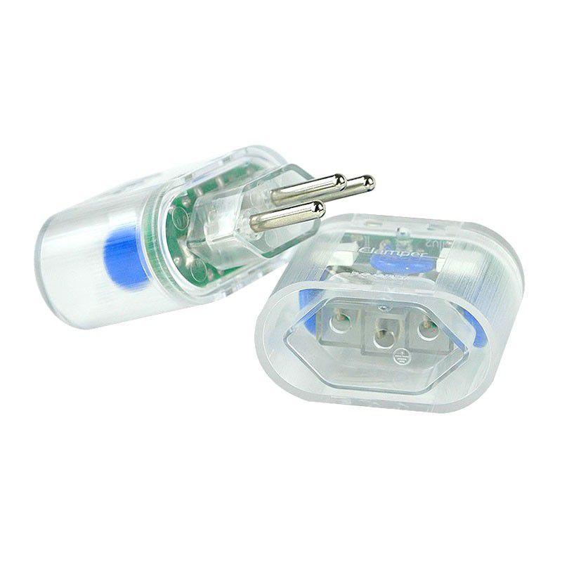 Protetor Surtos Raios Dps Pocket Plug 3 Pinos 10199 Clamper