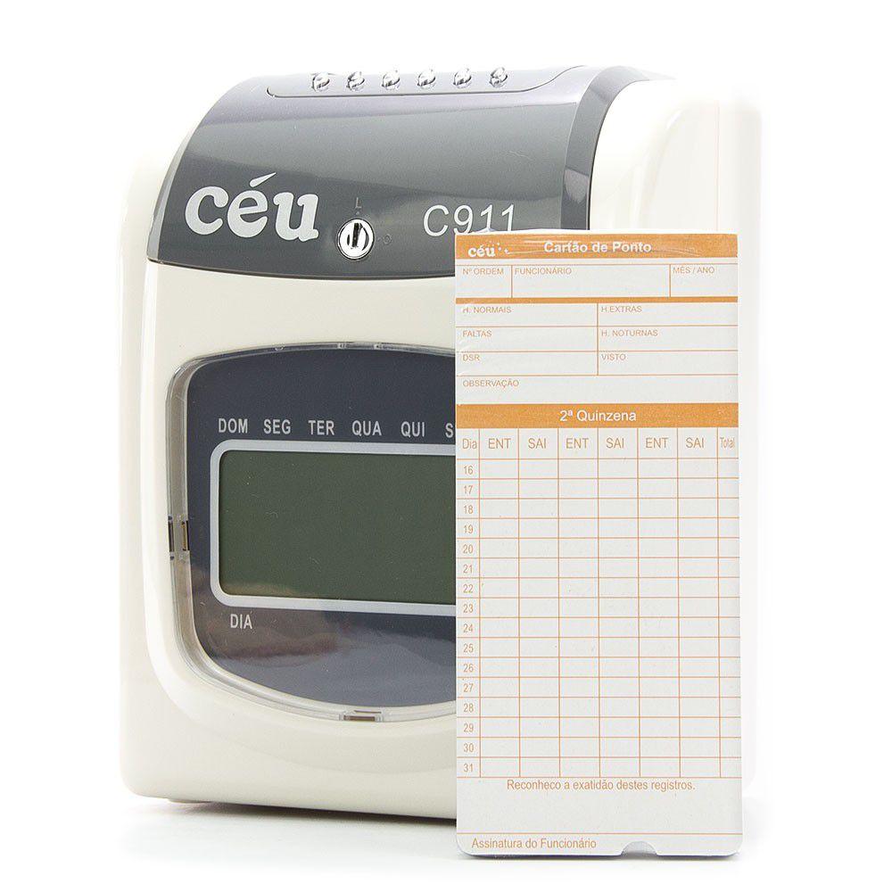 Relógio de Ponto Cartográfico C911