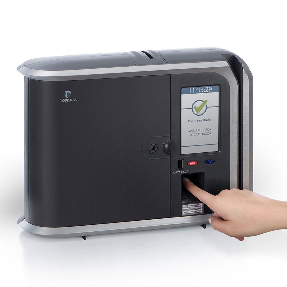Relógio de ponto Top Data Inner REP PLUS V3 (Bio Prox) Homologado MTE e Inmetro