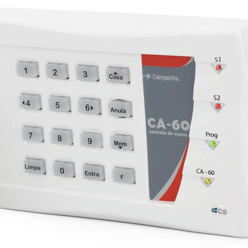 Teclado Controlador De Acesso Por Senha Até 60 Usuários Ca60