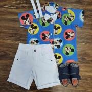 Roupa Mickey Azul Infantil