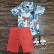 Bermuda com camisa Bioma Infantil