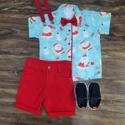 Bermuda com Camisa Polo Norte Infantil