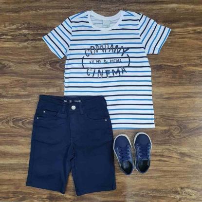 Bermuda com Camiseta Company Infantil